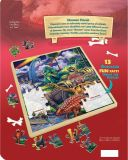 Spaß-Tatsachen-Dinosaurier-Freunde 48 Stück-Holz-Puzzlespiel