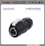 빠른 Assembly Circular Waterproof Connector/Ip67 Waterproof Connector 또는 Panel Mount Waterproof Connector