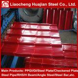 Farbe beschichtete galvanisierte gewölbte Stahlplatte für Dach
