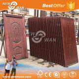 Portes de sécurité en acier inoxydable / Porte blindée en acier au bois pour la maison, appartement
