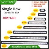 Super Bright 20W 40W 60W 100W 120W 180W 240W 260W 300W Ligne unique bar lumineux pour LED CREE LED Bar Offroad conduit feux de route