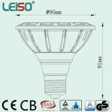 E27/E26/B22 기초를 위한 에너지 절약 반사체 컵 LED 전구 PAR30-S 15 (PAR38-D)