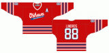 Liga de Hóquei de Ontário personalizados Oshawa Generais 1984-2006 Home/Road Hóquei no Gelo Jersey
