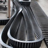 Courroie en caoutchouc de Flexowell pour l'usine sidérurgique, usine de charbon, yard gauche