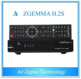 IPTV Zgemma H. 2s를 가진 쌍둥이 Tuner DVB S/S2 위성 텔레비젼 Decoder
