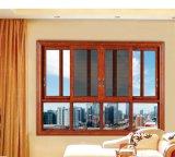 Finestra di alluminio scorrevole della rete di zanzara di vetratura doppia di Feelingtop
