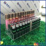 명확한 아크릴 단계 층층 36의 립스틱 조직자 선반/화장품 저장 쟁반 전시