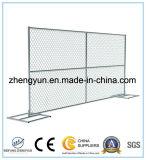 panneau provisoire de frontière de sécurité de maillon de chaîne de 6FT*12FT pour nous
