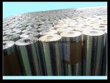 Het Grof linnen Kraftpapier van de Folie van het Aluminium van de drievoudig-Manier van de thermische Isolatie