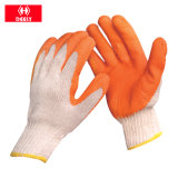 Перчатки техники безопасности на производстве PU черноты аттестации Ce высокого качества Coated Nylon с ISO9001