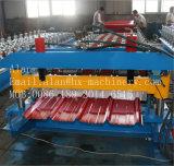 형성하는 Trapezodial 아연 금속 루핑 장 롤 기계를 만들기