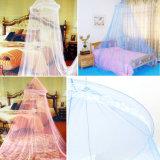 Elegantes rundes Spitze-Bett-Kabinendach-Filetarbeits-Vorhang-Abdeckung-Moskito-Netz