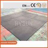 Ideal para el cuarto de baño alfombra de goma de Plyometrics Heavy Duty golpes Gimnasio