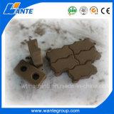2 morceau/moule à faible coût machine à fabriquer des briques de ciment hydraulique automatique