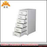 Cabina de fichero barata del cajón del acero 6 de los muebles del hogar de la oficina de Hotsale
