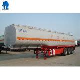 3 essieu 47000 litres de diesel du réservoir en acier inoxydable semi-remorque