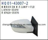 Retrovisor partes separadas automático encaixa para a Hyundai Sonata 2011 carro. #OEM:070/87620 87610-3s-3S070