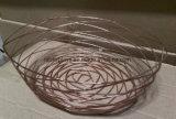 Cesta de fruta del almacenaje del supermercado de la visualización de la cocina del alambre de metal