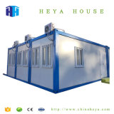 Vorfabriziertes 40FT Flachgehäuse-Behälter-Haus für Verkauf in Philippinen