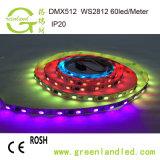 Las ventas en caliente de 12V de alta calidad impermeable flexible TIRA DE LEDS RGB 5050