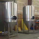 Aquecimento a gás 600L equipamento de fabricação de cerveja em aço inoxidável