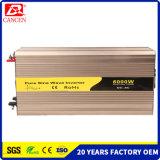 Volle Energie für reinen Sinus-Wellen-Inverter 6000W für Haushaltsgerät-Qualitäts-Fabrik verweisen Gleichstrom (12V 24V 48V) auf Wechselstrom (100V 110V 120V 220V 230V 240V)