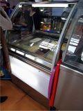 Gelato Eiscreme-Bildschirmanzeige-Gefriermaschine