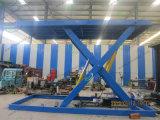 3500 kg hidráulicas tipo tijera elevador de coche para estacionar