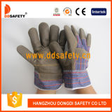 Ddsafety 2017 Brown Furniture Gants de travail en cuir Rigger