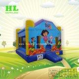 Зоопарк Цирк тема надувные прыжком Bouncer для детей