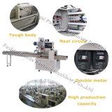 ガス満ちる装置および日付の印刷の自動パンの包装機械