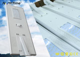 80W 9000lm Openlucht Lichte IP65 alle-in-Één LEIDENE ZonneStraatlantaarn
