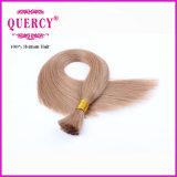 Quercyの毛によって着色される最上質のベストセラーの製品100%の完全なクチクラのバージンのRemyのブラジルの人間の毛髪の大きさ