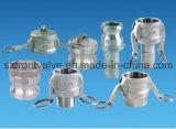 Came de Aço Inoxidável Microfusão Lock-Type F Macho do Adaptador