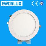 Éclairage de plafond 12W ronde d'éclairage LED pour panneau