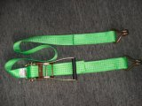 Ratchet Cargo Lashing Strap with Double J Hook