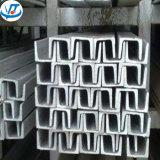 De U-balk van het Roestvrij staal van de Prijs van de fabriek 310S voor de Markt van Europa