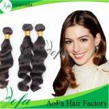 Estensione brasiliana naturale all'ingrosso dei capelli di Remy del Virgin dei capelli umani