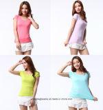 D'O bons Quality100% T-shirts de coton du collet