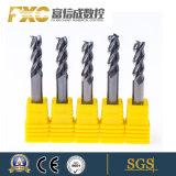 A extremidade de flauta Fxc 4 Ferramenta de corte do moinho para máquinas CNC