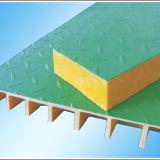 FRP решетку с крышкой для предотвращения жидкости поддон