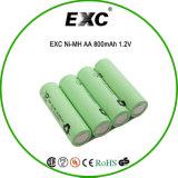 4.8V NIMH AA 2100mAhの充電電池のパックNIMH 4.8V AA