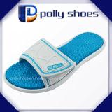 Pistone stampato della spiaggia delle donne di EVA Outsole dell'azzurro di blu marino