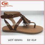 Madame Sandals Shoes de modèle simple de poussoir de loisirs de femmes