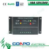 10A, 12V/24V 의 LED 지능적인 태양 관제사