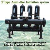 Gewächshaus-Bewässerung-Platten-Selbstreinigungs-Filtration-Maschinen-Selbstwellengang-Filter-Gerät für Berieselung-System