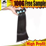 Выдвижений волос дюйма высокой надкожицы Unprocessed зажим 36 внутри
