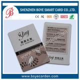 Cr80 cartão chave do hotel do PVC RFID