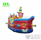 Amusement Park Playground Bateau Pirate gonflable