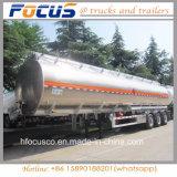34, rimorchio di alluminio del serbatoio di combustibile 000L con il Adr per il Madagascar